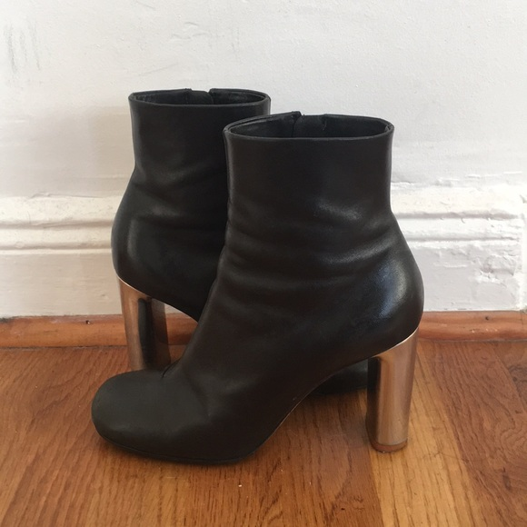 52c86873559a Celine bam bam ankle boots. Listing Price: $88.00